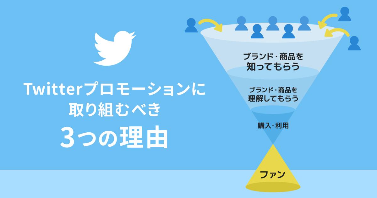 Twitterキャンペーン ファン形成フロー