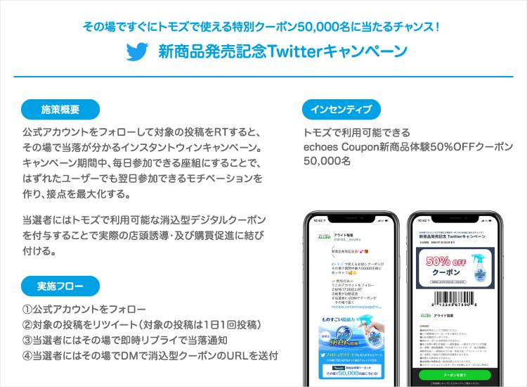 新良品発売記念Twitterキャンペーン